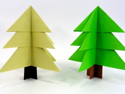 Paper Christmas Tree Making Idea | DIY Easy Christmas Craft