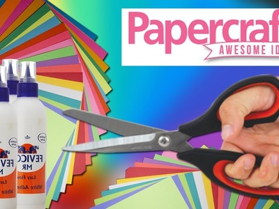 Paper craft Awesome ideas | arts and crafts with paper | DIY paper craft