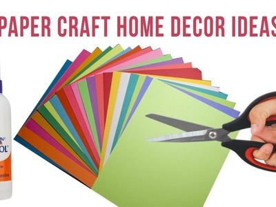 Paper Craft Home Decor Ideas - Home Decoration Easy Idea with Paper