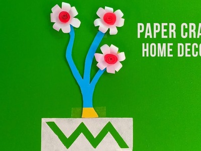 Paper Craft - home decor | Paper Wall Hanging Craft Ideas