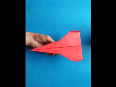Simple Paper Airplane Design That flies far | Paper Art and Craft Ideas for Kids