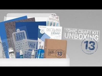Tonic Live Unboxing - Tonic Craft Kit 13
