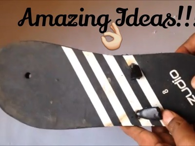 Waste material craft ideas | sandal reuse old chappal ideas | old flip flop | best out waste ideas