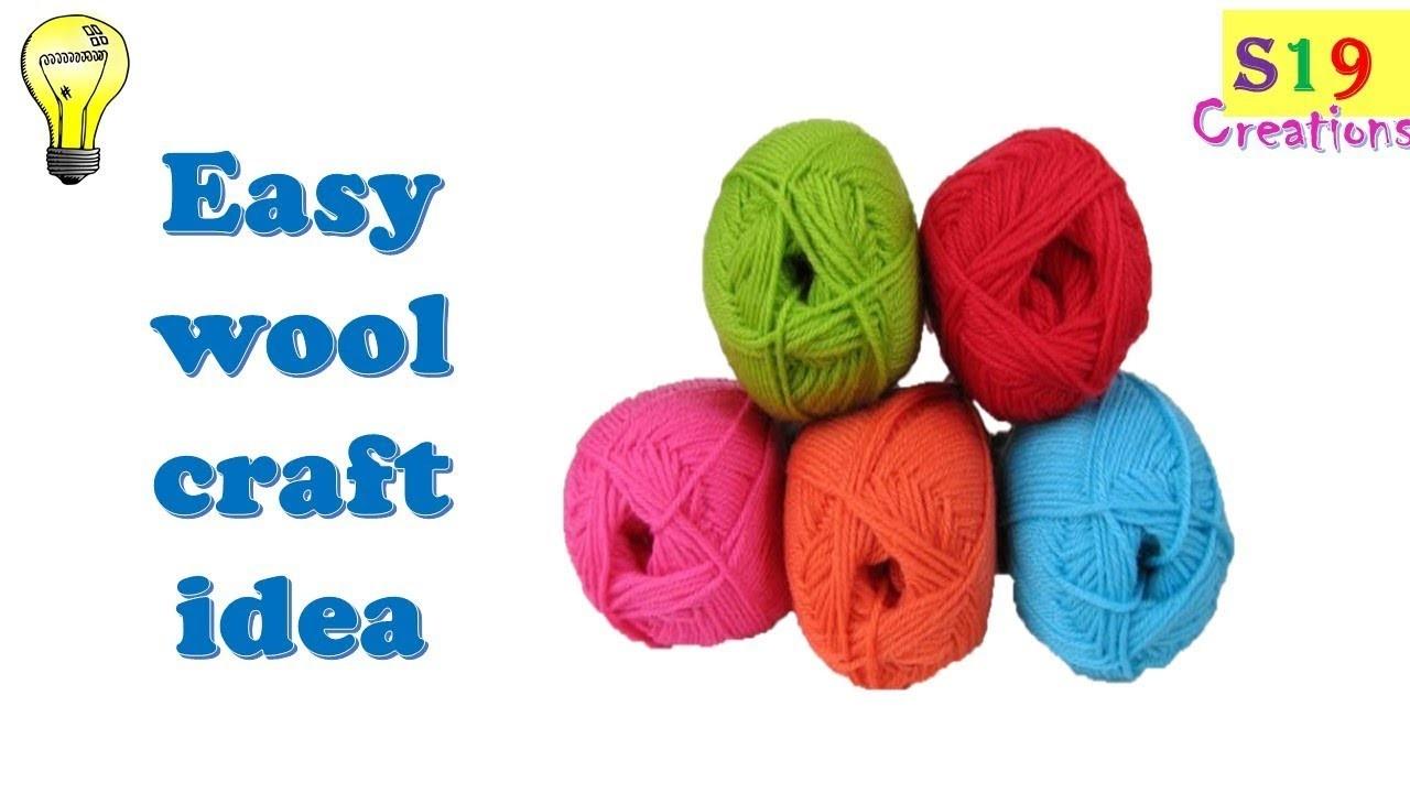 Wool Craft Ideas Diy Gift Diy Arts And Crafts Easy Wool Craft