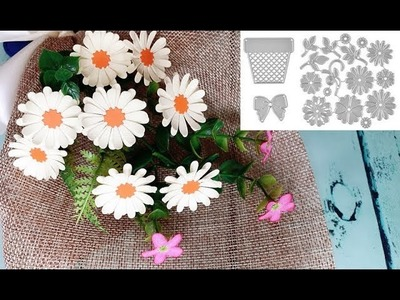 ABC TV | How To Make Daisy Bouquet Flower With Shape Punch - Craft Tutorial