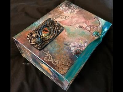 Craft Box Signature Kit - Mixed Media Treasure Box
