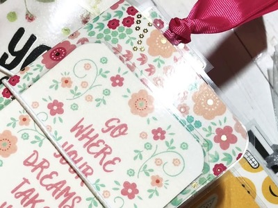Craft Fair Series 2018- Personal size Travelers Notebook without the flap