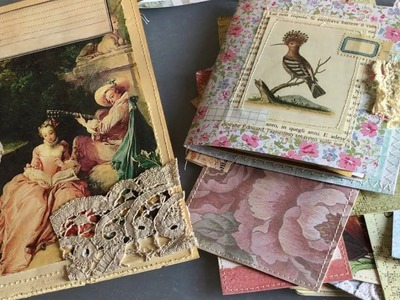 Craft with me | Using up scraps | making ephemera