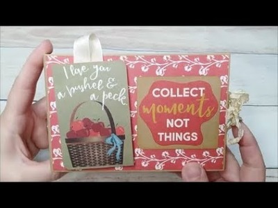 Design Team project for Country Craft Creations - Grandma Brag Book and Tutorial