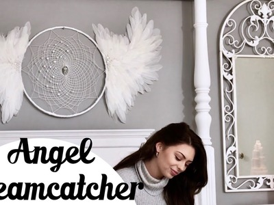 DIY Angel Dreamcatcher Tutorial