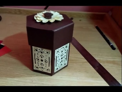 DIY Candy Box Making Tutorial | Gift Wrapping Idea|