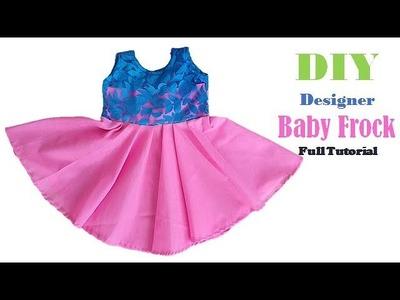 Diy Designer Baby Frock Full Tutorial