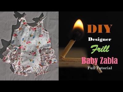 DIY Designer  Baby Zabla Cutting And Stitching full Tutorial