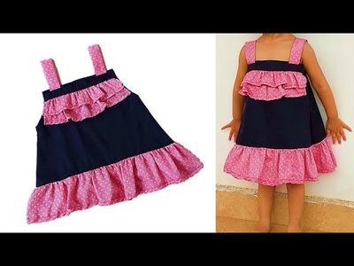 Diy Designer Baby Zabla For 1 year baby girl  Cutting And Stitching Full Tutorial