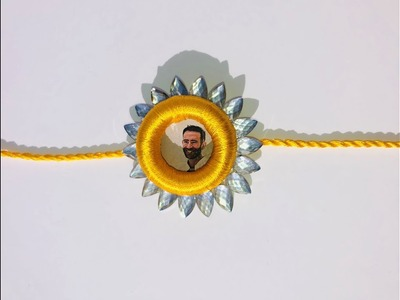 DIY Easy Personalized Photo Rakhi | How to Make Rakh With Photo
