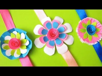 DIY: Easy Rakhi Designs!!! How to Make Easy Paper Rakhi at Home.Handmade Rakhi!!! 20