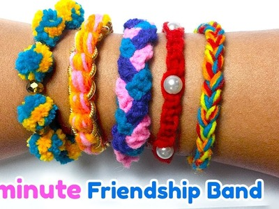 DIY Friendship Bracelets | How to make friendship band at home in 2 minutes | Artsy Madhu 29