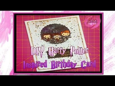 DIY Harry Potter Inspired Birthday Card Tutorial
