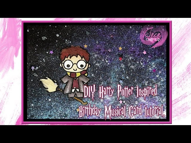 DIY Harry Potter Inspired Singing Birthday Card Tutorial