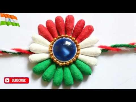 DIY Indian tricolor rakhi| Earbuds Rakhi| Rakhi for kids |Rakhi Making|#Rakhi| #Rakshabandhan