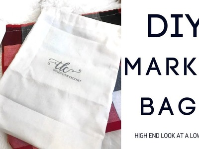 DIY Market and Mailing Bags - Low Cost, Expensive Look