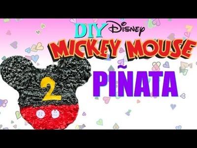 DIY Mickey Pinata Under $5!
