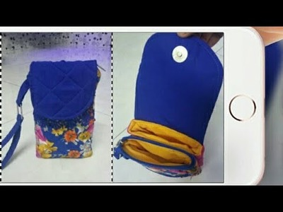DIY: Mobile With Money Pouch Tutorial By Anamika Mishra. .
