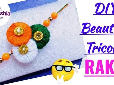 DIY Rakhi making at home   How to make rakhi at home   Easy Rakhi tutorial   rakshabandhan