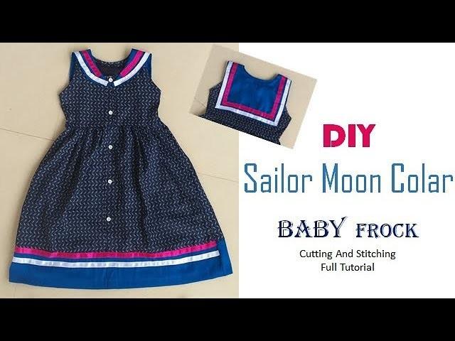 DIY Sailor Moon Colar Baby Frock Full Tutorial