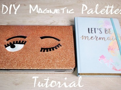 DIY Tutorial- Making a Z Palette out of an IPAD Case!! + a journal