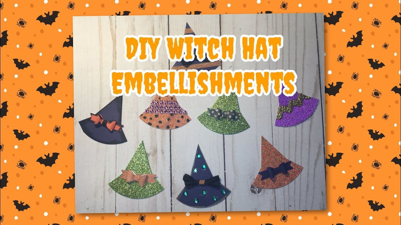 DIY Witch Hat Embellishments | Halloween ???? Series