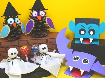 Fun Halloween Crafts for Kids | Halloween Craft Ideas