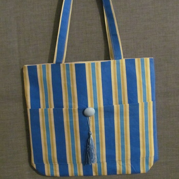 Hand made tote bag