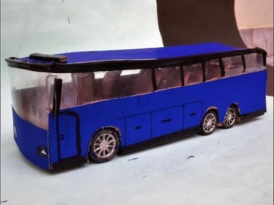How to Make a local Bus at Home diy projects easy way