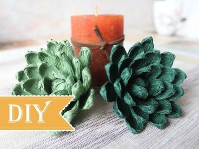 How to Make a Paper Cactus - DIY Tutorial