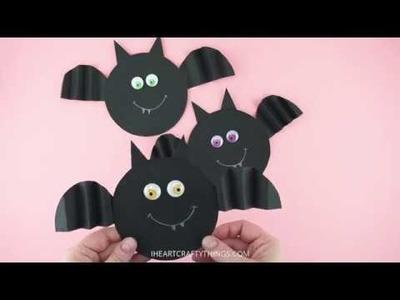 How to Make an Accordion Fold Bat Craft