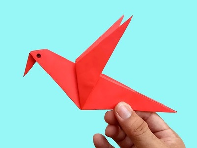 Paper How To Make An Origami Paper Bird Paper Folding Craft