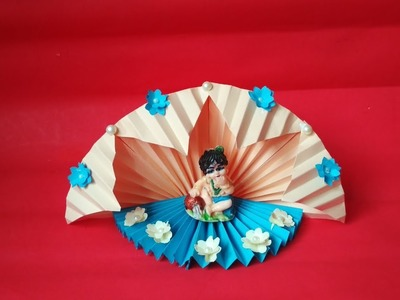 Janmashtami Decoration IDEA from Craft Paper
