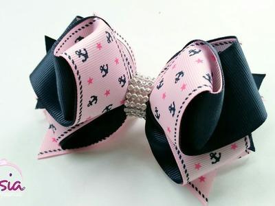 Laço Nadia ???? Ribbon Bow ???? DIY by Elysia Handmade