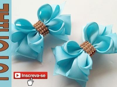 Laços De Borboleta Fita N5 ???? Ribbon Bow Tutorial ???? DIY by Elysia Handmade