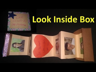 Look Inside Box । DIY। Card Tutorial। Handmade Memories for your dear ones