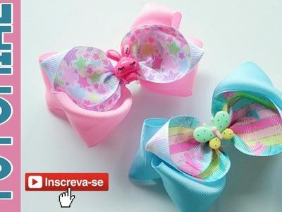 New Laço Aurel Fita N9 ???? Ribbon Bow Tutorial ???? DIY by Elysia Handmade