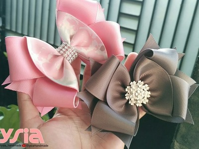 New Laço Boutique ???? Ribbon Bow ???? DIY by Elysia Handmade