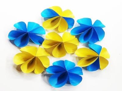 Origami Paper Flower Tutorial   Cute DIY Beautiful Paper Flower Tutorial - Learn Origami