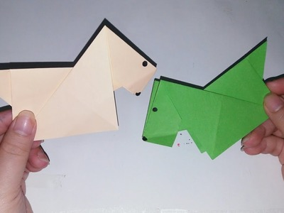 Paper Craft: how to make paper dog| Paper Craft |step by step |Chenly's Crafty Creation