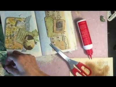 Process Video Playing with Gypsy Rose Junk Journal Kit - Episode 3 - Craft with Me