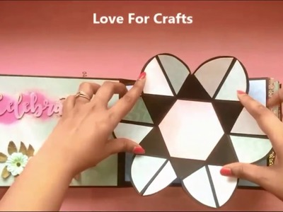 Scrapbook Album with Itsy Bitsy Craft Supplies by Love for Crafts