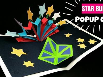 STAR Burst Popup Card - DIY Tutorial - 920