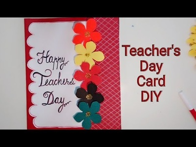 Teacher's Day Special card for School Children | Paper Craft