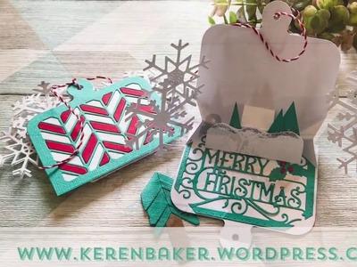 Tonic Craft Kit 13 - Christmas Pop-Up Tag - Keren Baker